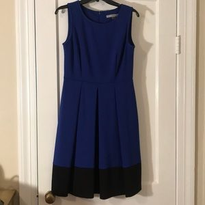 Beautiful Blue & Black Marc New York Dress